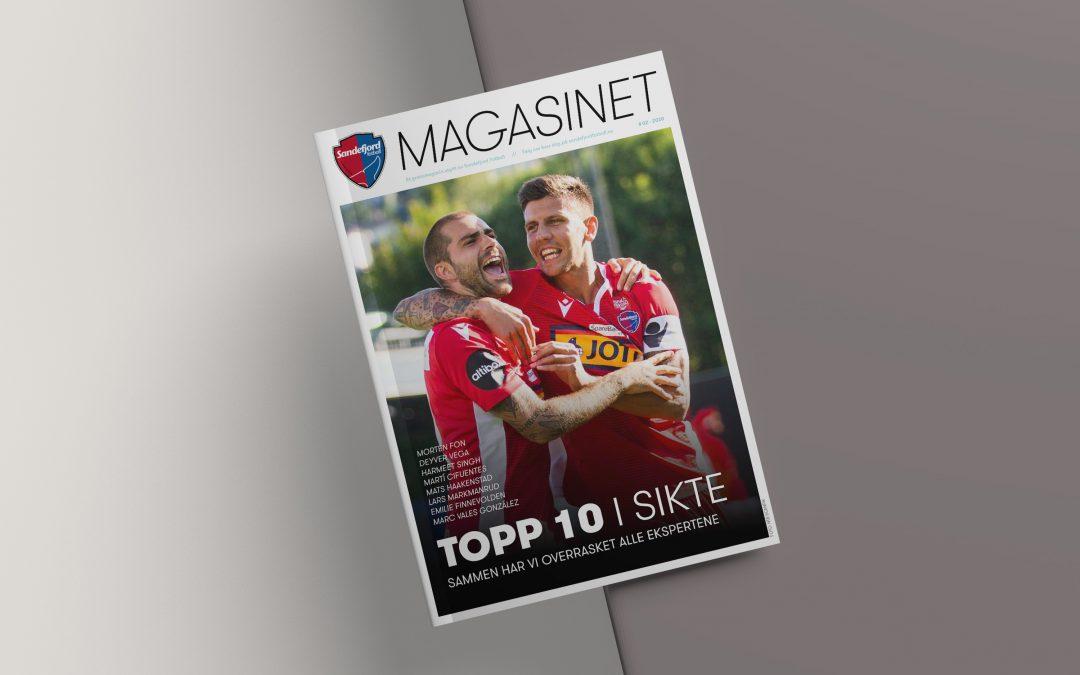 Magasin for Sandefjord Fotball