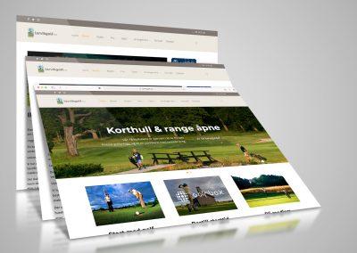 Nettside for Larvik Golfklubb