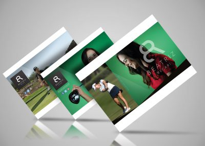 Logo og nettside for Beatriz Recari