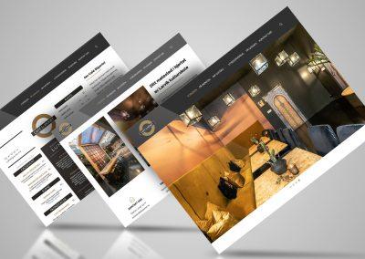 Nettside for Café Sliperiet