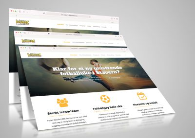 Nettside for Petter Belsviks fotballskole