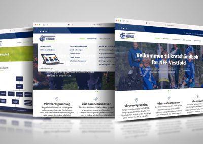 Nettside for NFF Vestfold